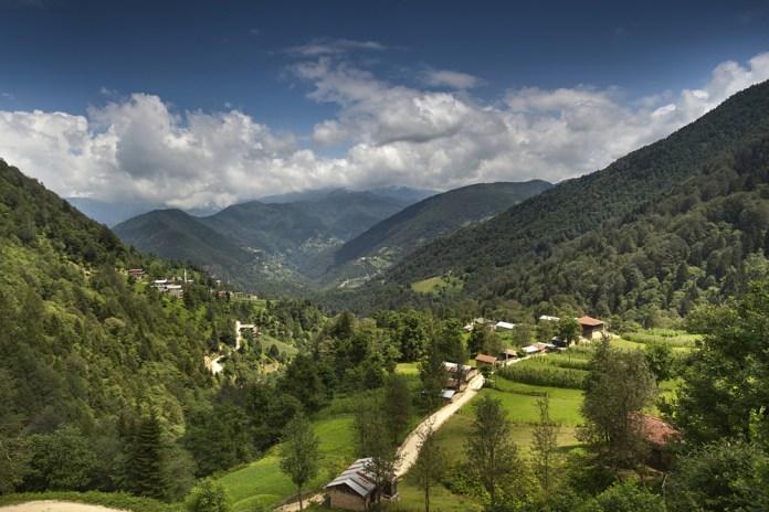 Die Region um Ikizdere bei Rize ist mit einer grünen Landschaft bekannt.