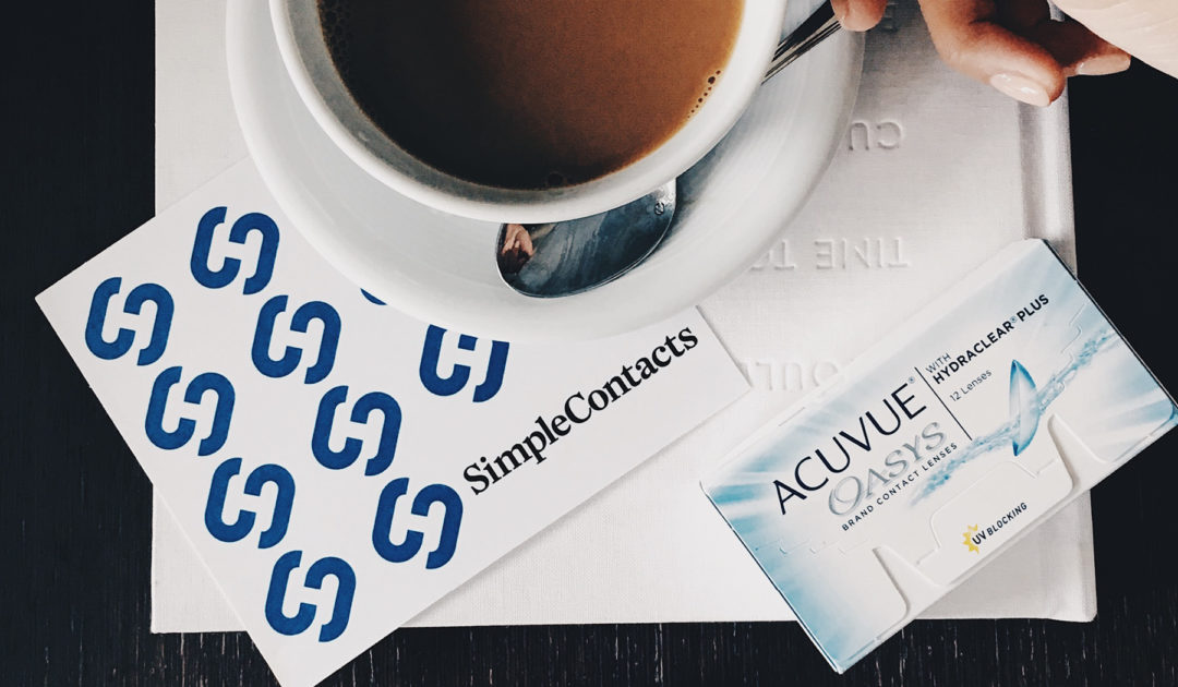Simple Contacts Review - How to Renew your Contact Lens ...