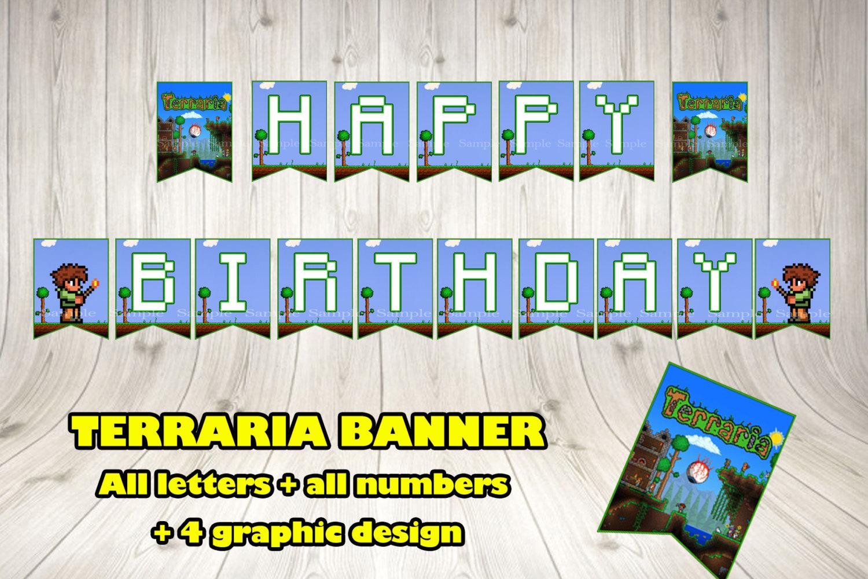 terraria banner terraria party