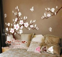 white cherry blossom Vinyl wall decals by Cuma wall decals ...