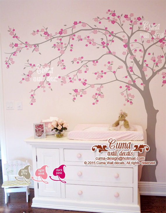 cherry blossom wall decal wall decals by Cuma wall decals