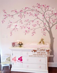cherry blossom wall decal wall decals by Cuma wall decals ...