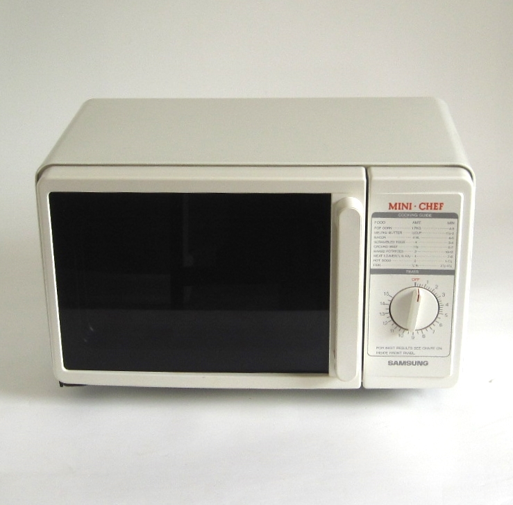 samsung mini chef small microwave oven for sale glass plate not included