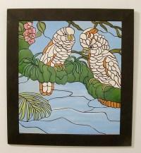 Wood Wall Art, Cockatoo's . Sculptured | GalleryatKingston