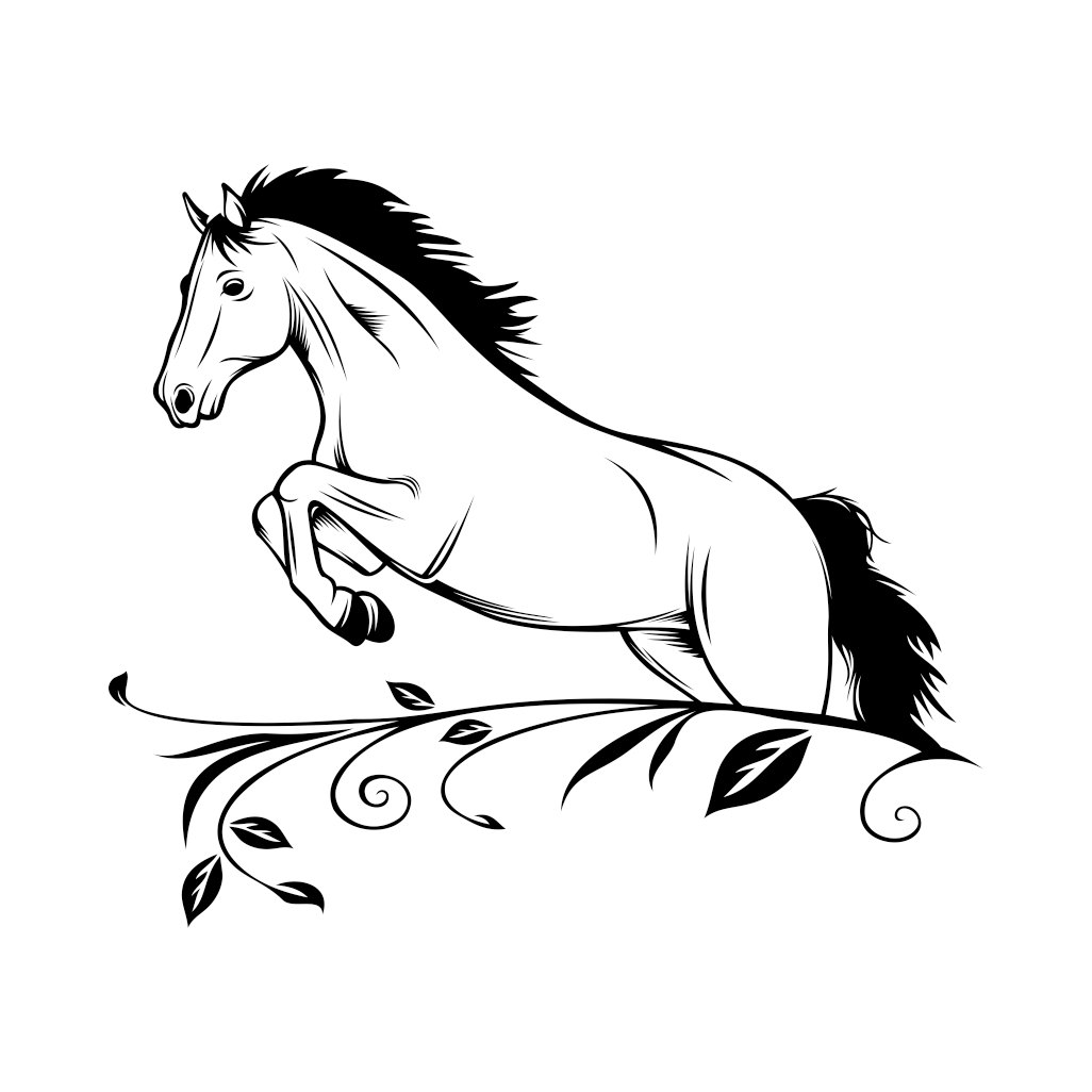 Download Horse SVG Cricut Silhouette graphics design by ...