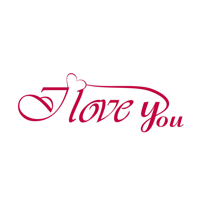 Download I Love You Phrase quote Valentines Day Heart by ...
