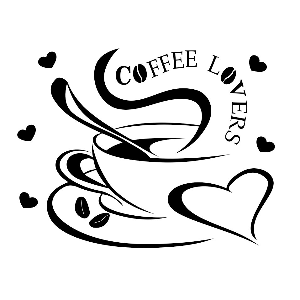 Download Coffee Lovers graphics design SVG, DXF, EPS, by ...