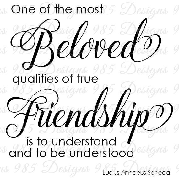 Beautiful Beloved Friendship SVG for by 985 Graphic