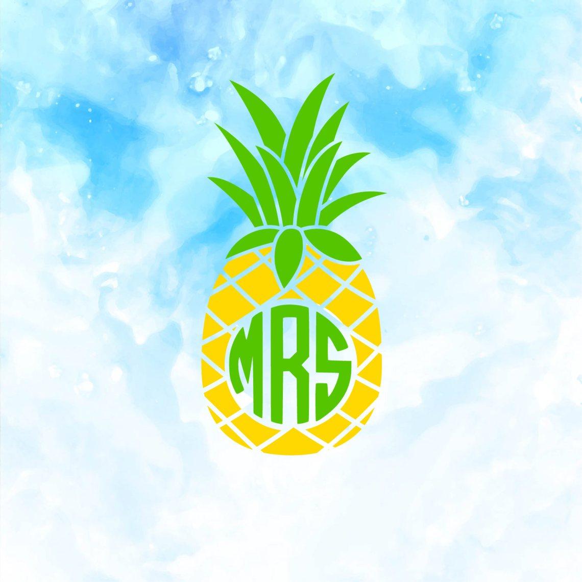 Download Pineapple SVG | Pineapple Monogram SVG | SVG by JoyfulSVG ...