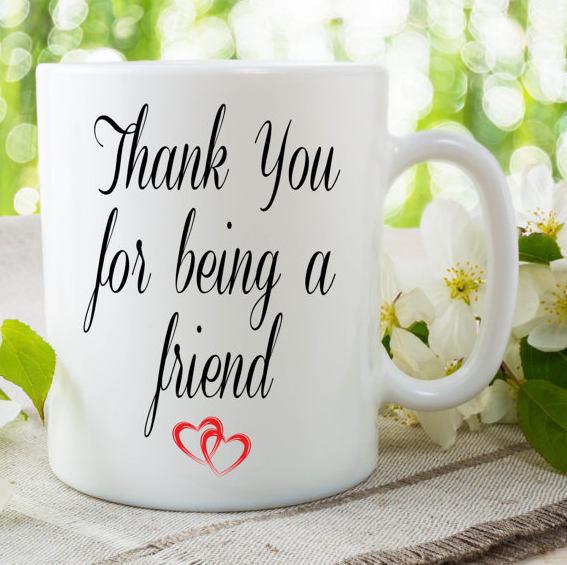 friend mug thank you