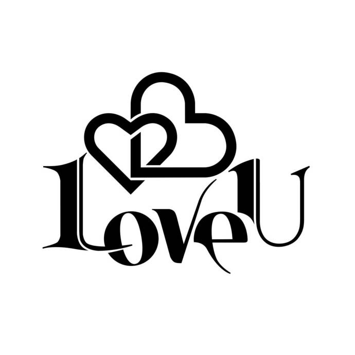 Download I Love You sign Graphics SVG Dxf EPS Png Cdr by ...