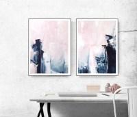 Bedroom Print Set, PRINTABLE Wall Art, Set of 2 by ...