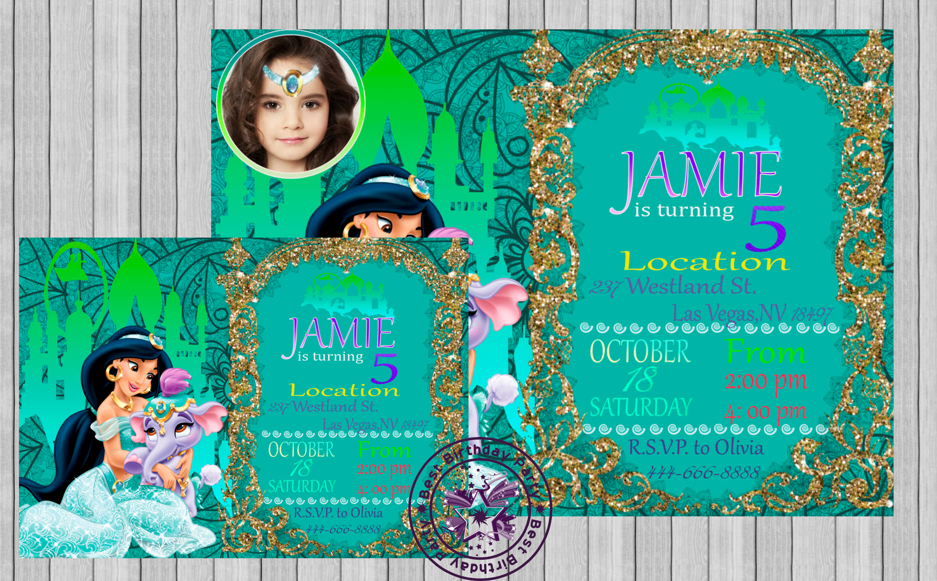 princess jasmine invitation jasmine invitation jasmine princess invitation invitation princess jasmine jasmine invites jasmine birthday