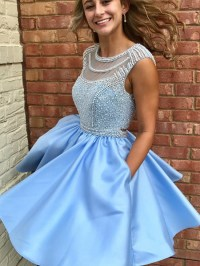 Cute Prom Dresses,Sparkly Prom Dress,Beads by prom dresses ...