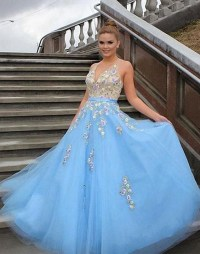 Light Blue Prom Dresses,Tulle Prom by prom dresses on Zibbet
