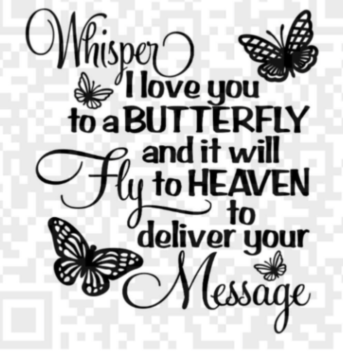 Download Whisper I Love You to a Butterfly by Creative Digital ...