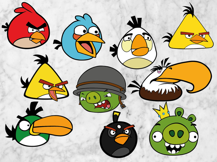 angry birds svg files
