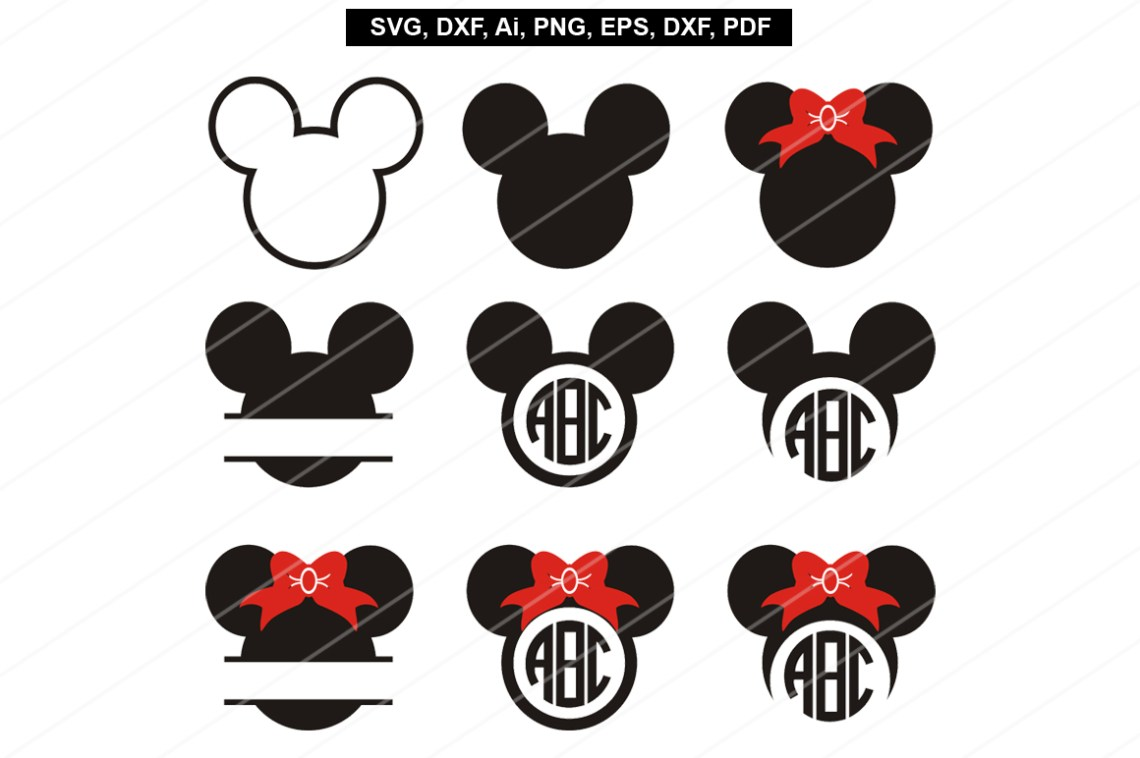 Download Mickey mouse svg files,Mickey mouse cut by Paperamaze on ...