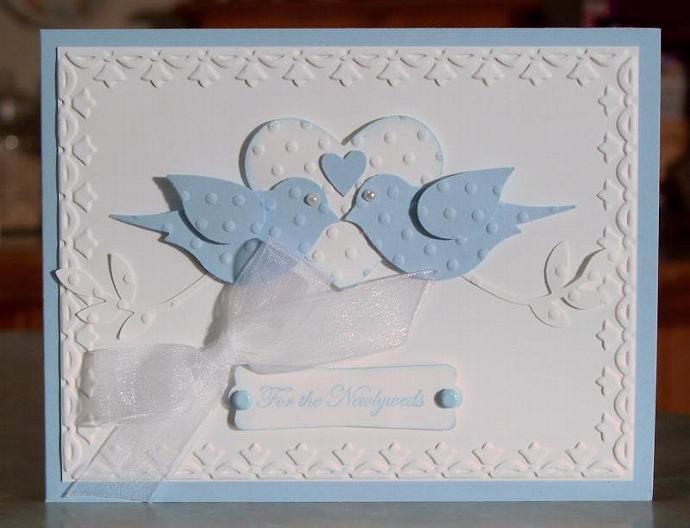 Stampin' Up Teeny Tiny Wishes, Handmade Wedding By