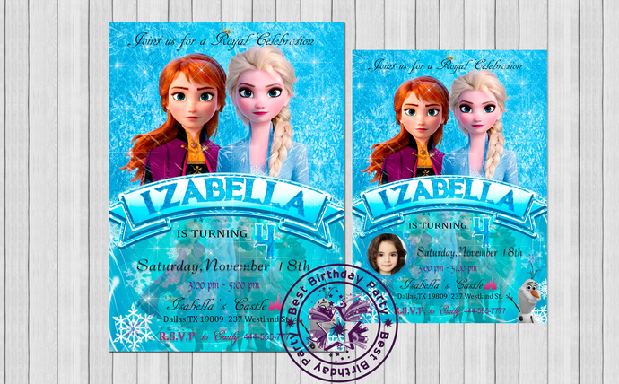 frozen birthday invitation printable frozen invitation frozen party invite frozen birthday invitations frozen birthday party invitations