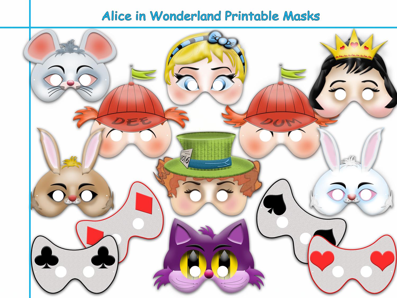 Unique Alice In Wonderland Printable By Holidaypartystar