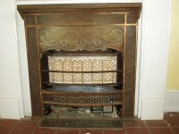 Vintage Ray Glo gas fireplace insert heater, by Patience ...