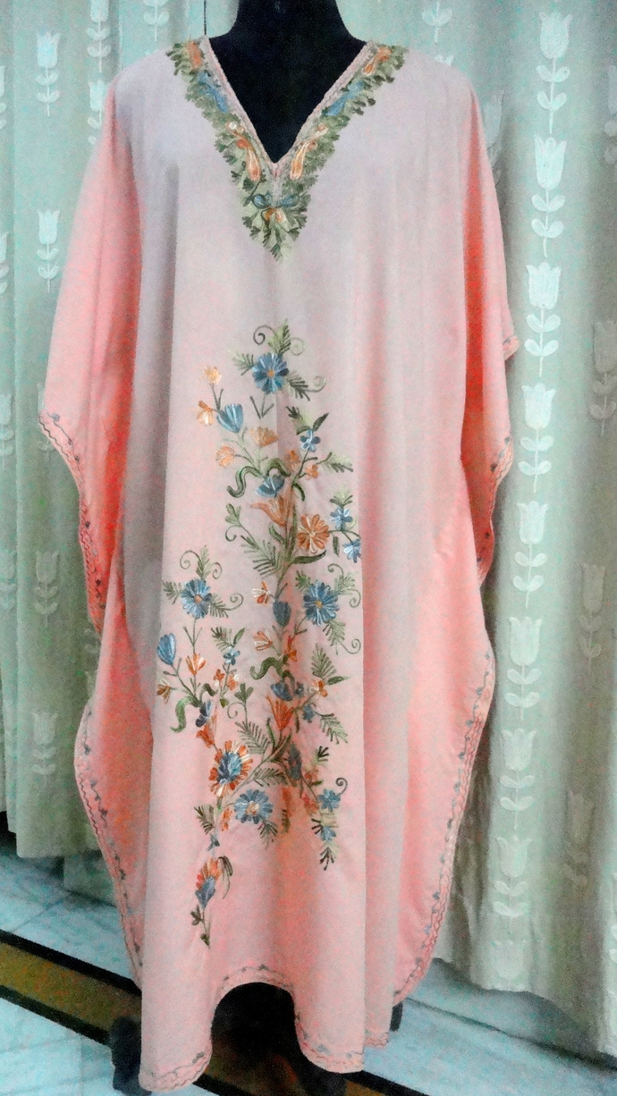 Floor Length Cotton Beach by contactkashmirarts on Zibbet