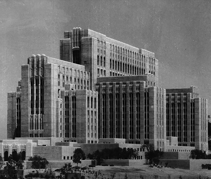 General Hospital – The Iconic Depression Era Building !!