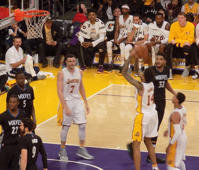 Lakers Buzzer Beater