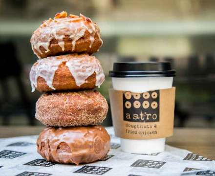 ASTRO DOUGHNUTS AND FRIED CHICKEN: Comfort Food That's Out of This World