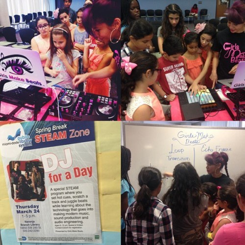 DJ for a Day presented by Girls Make Beats