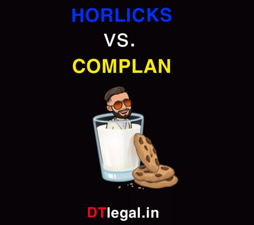 HORLICKS Vs COMPLAN: Comparative Advertisement 1