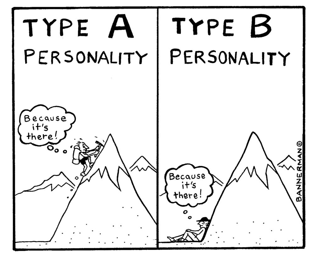 A or B: what's your personality type?   KiwiReport