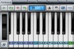 Music StudioのKeyboard画面
