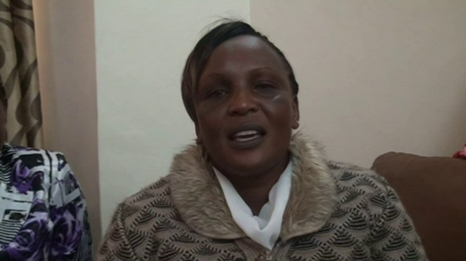 Hellen Jepchirchir is the tenth daughter of Kogo Saina, she is proud of her mother saying she never lacked anything in her life as she grew up. Picture by Wilson Rotich