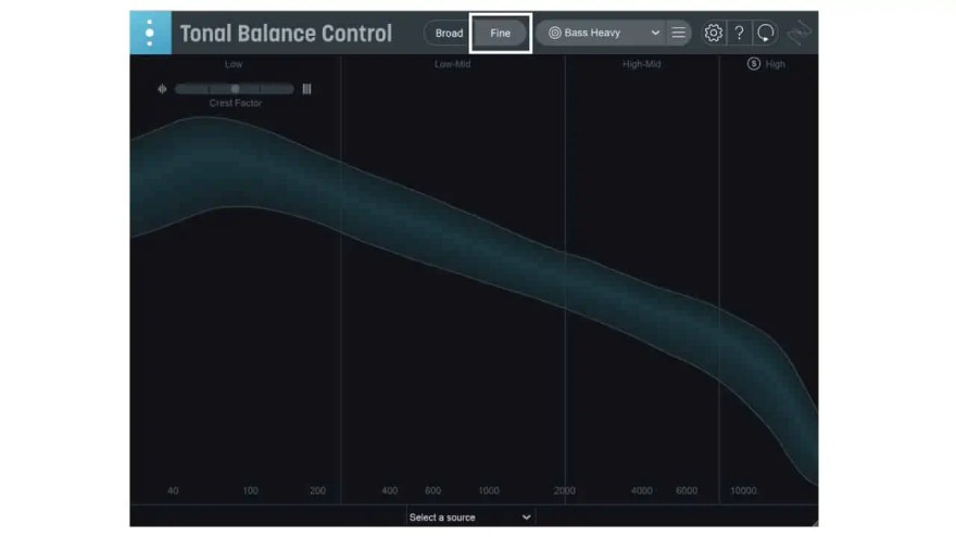 fine-tonal-balance-control