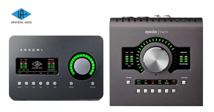 オーディオインターフェイス universal audio uad
