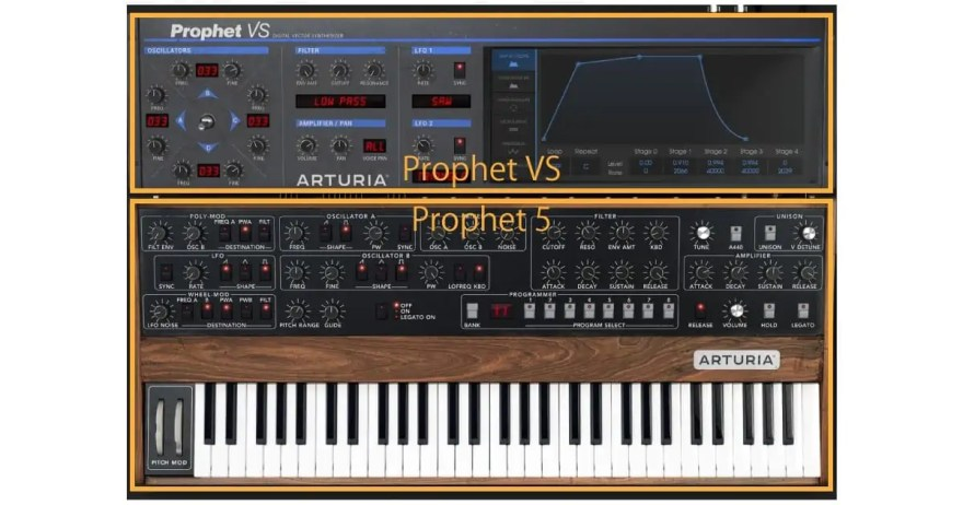 arturia v collection 7 prophet vs 5