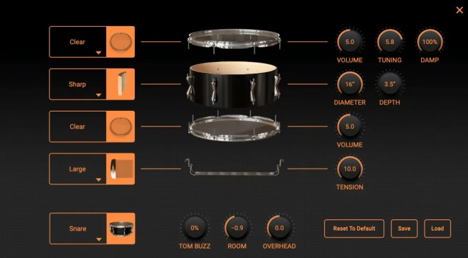 modo drum ik multimedia edit snare