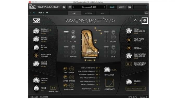 ravenscroft-275-setting-vi-labs