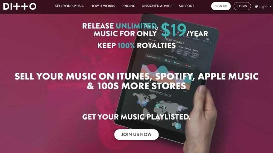 ditto-music-distribution