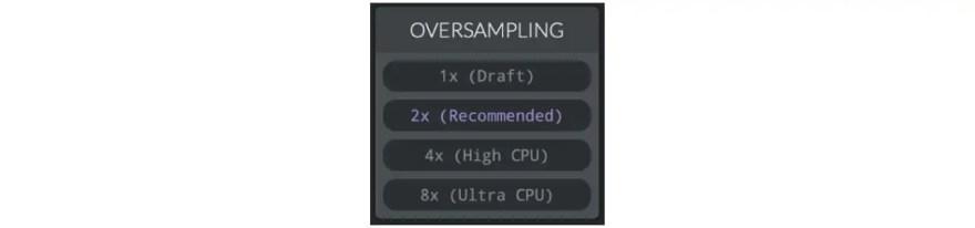 oversampling-vital