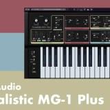 【無料】Moog製造の実機モデルソフトシンセCherry Audio「Surrealistic MG-1 Plus」レビューと使い方