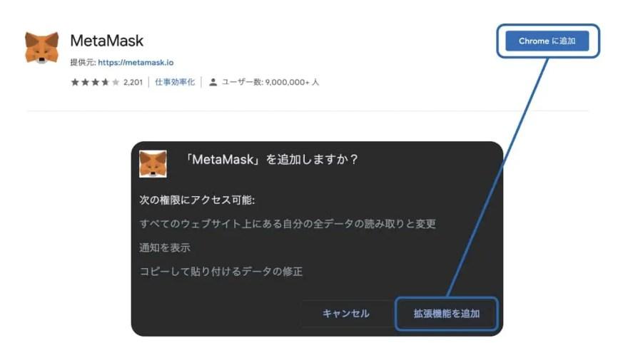 metamask-add