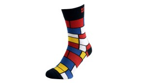 Mondrian Odorless Art Socks
