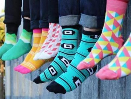 Study Finds Heartbreak Can Inspire Men to Buy Funky Socks