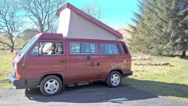 Location Van Tullibody Volkswagen T3 1989 Yescapa