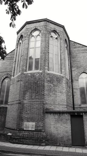 St Simons Church (East) Southsea 1864
