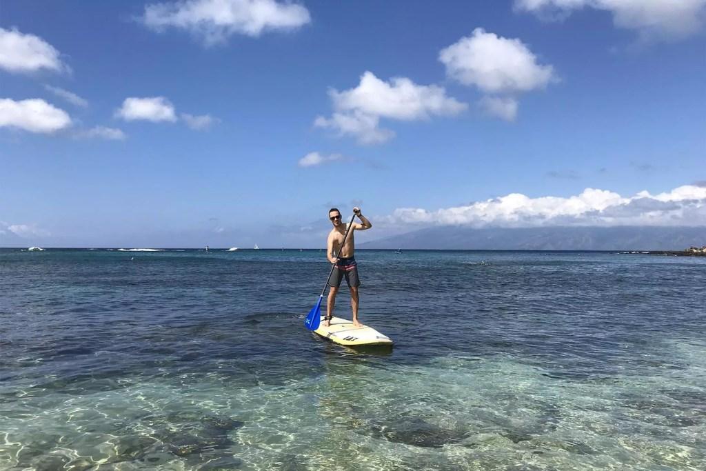 Maui Dom SUP Boarding