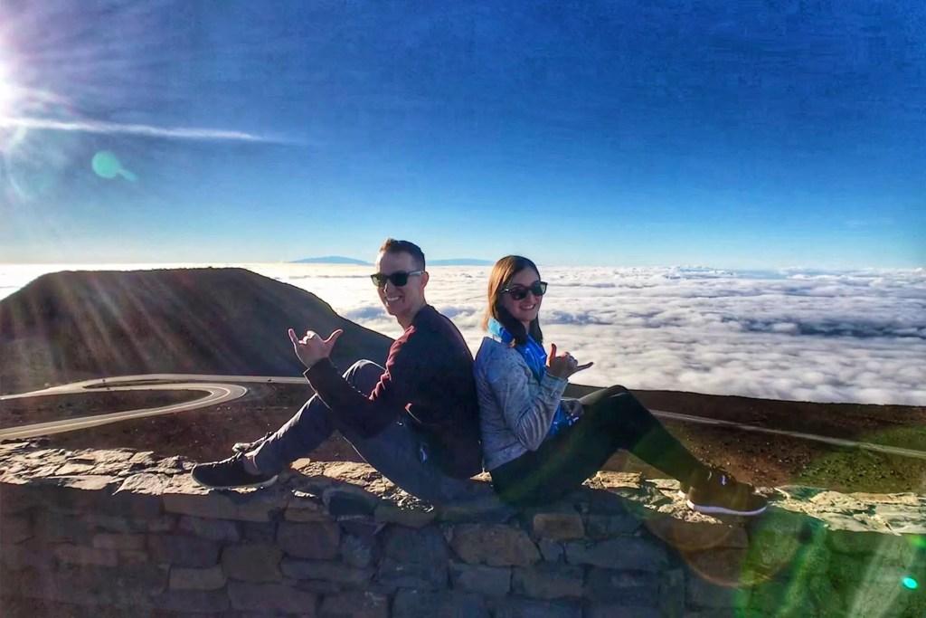 Maui Haleakala Above the Clouds